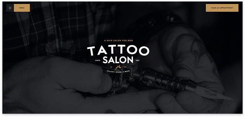 studio tattoo template