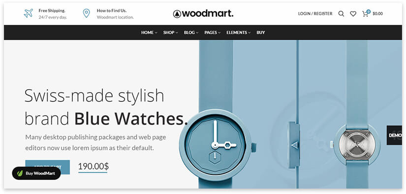 woodmart - the best online store