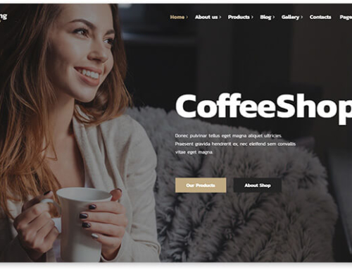 15 WordPress website templates for coffee shop
