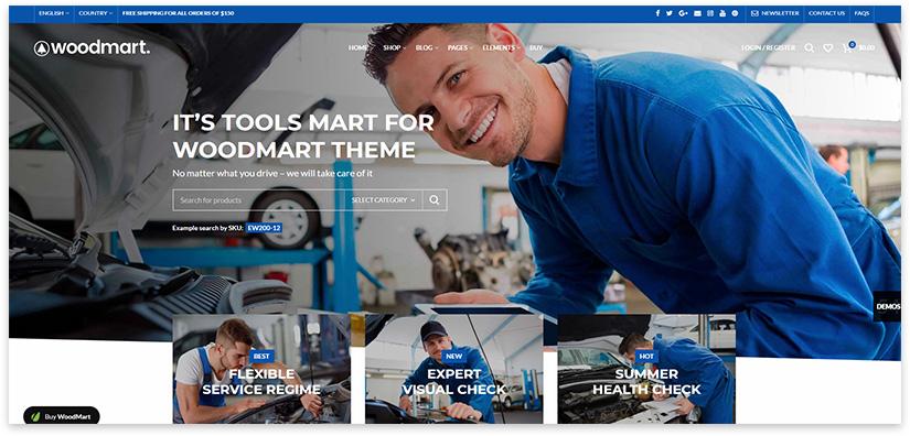sale of auto parts