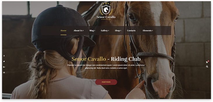 Ranch Website Template