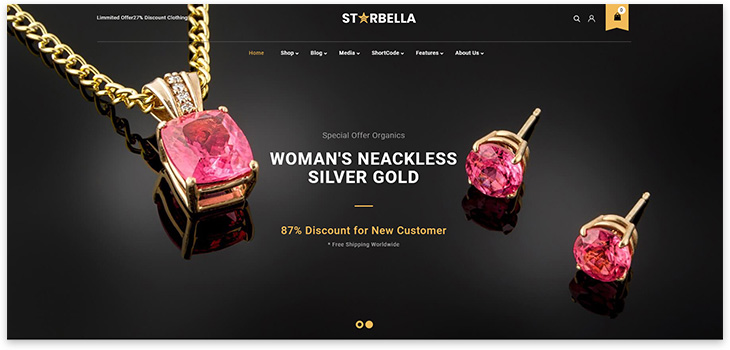 Website about jewelry