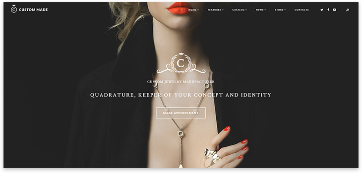 wordpress jewelery