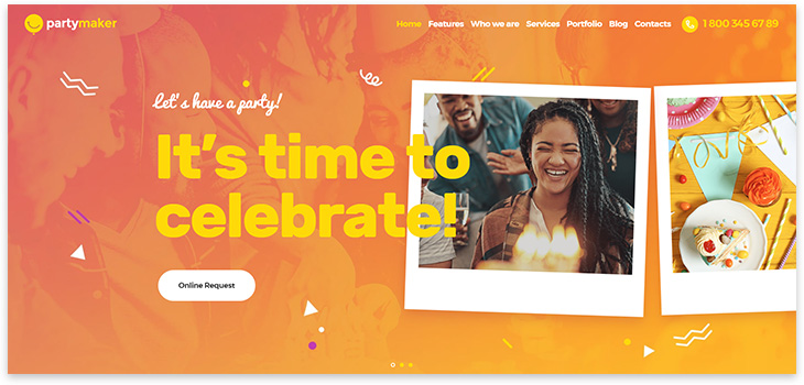 Holiday Organization Website