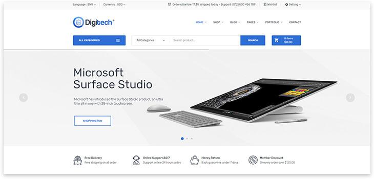 Wordpress Technology Store