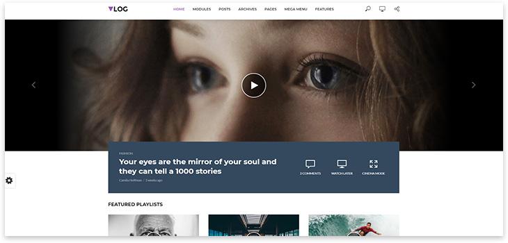 Vlog site