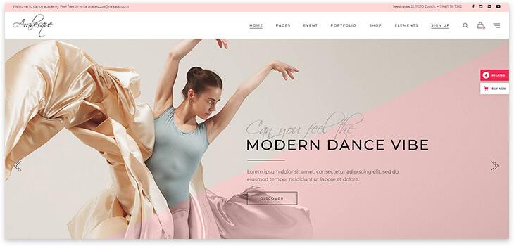 Ballet School Template