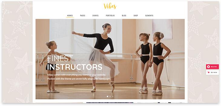 Children's dance school