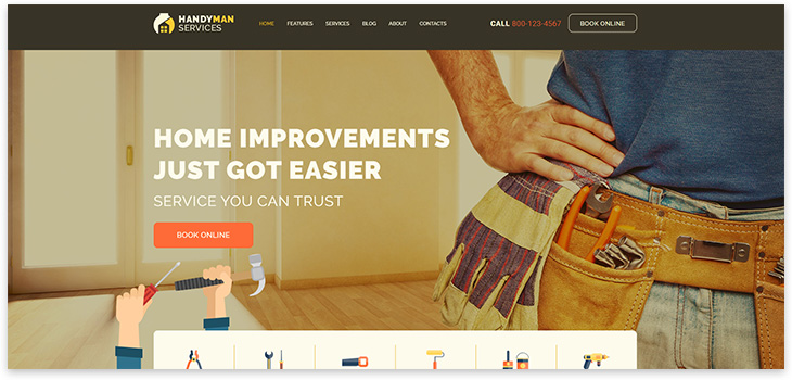 Construction Template WordPress