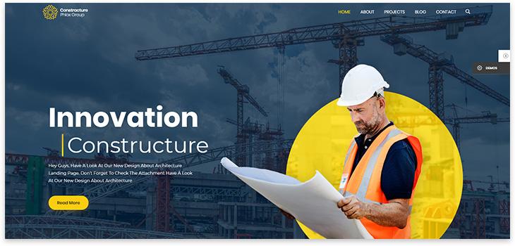 construction theme