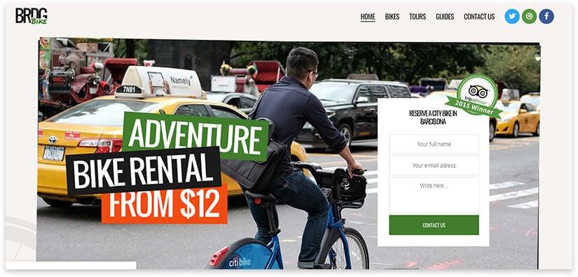 20 WordPress car rental and sale templates
