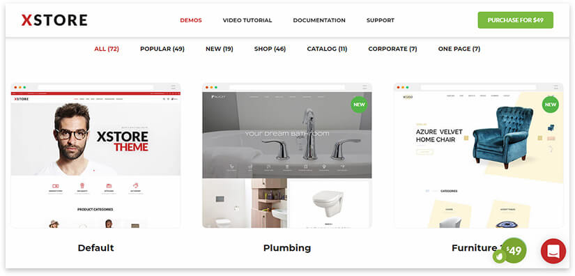 xstore theme online store
