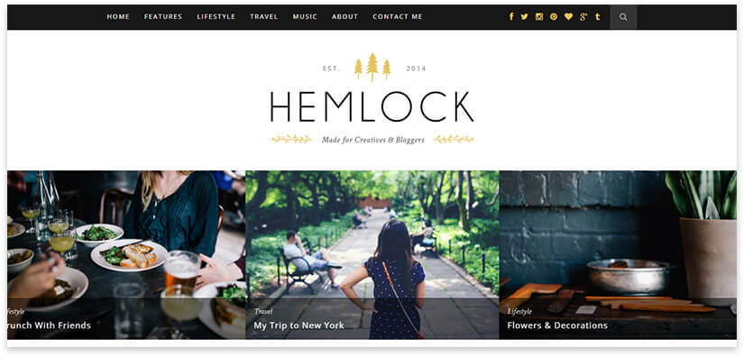 hemlock theme 2018