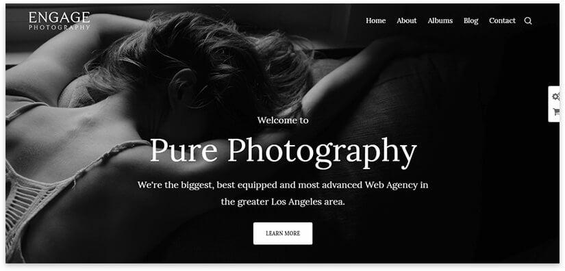 photography theme wordpress