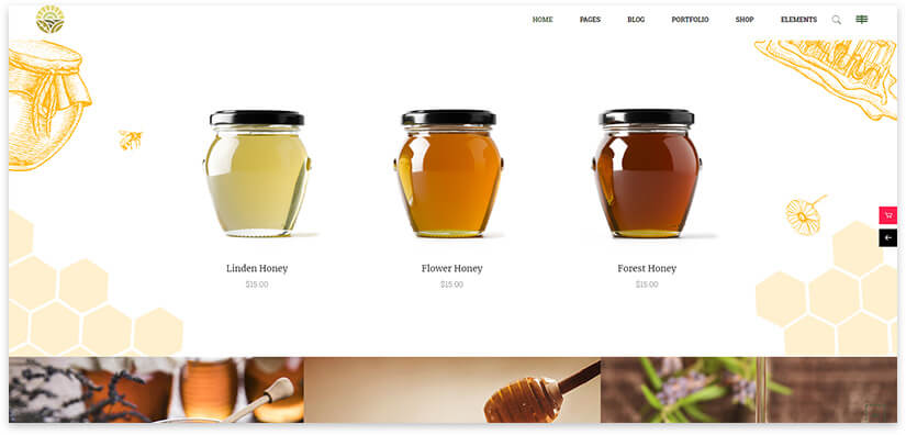 online honey shop