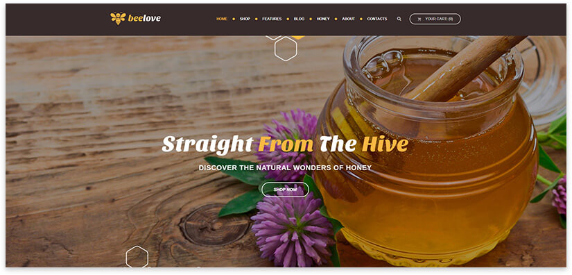 Honey WordPress
