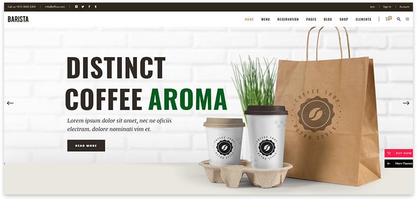 Coffee sale