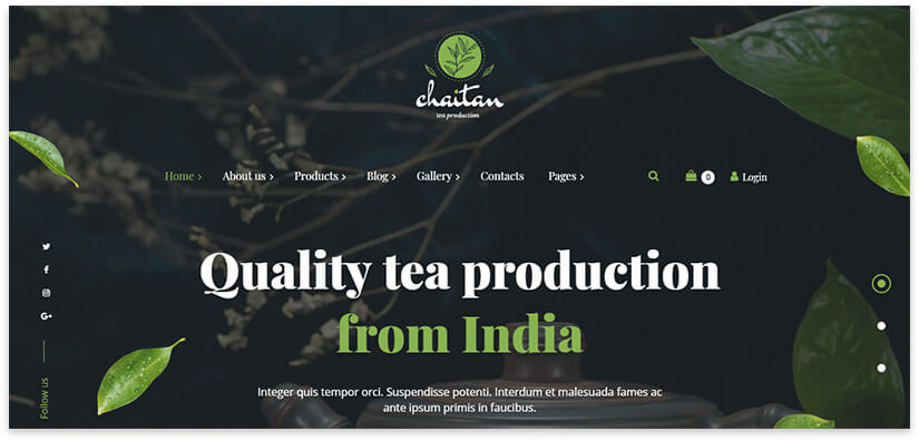 tea from india