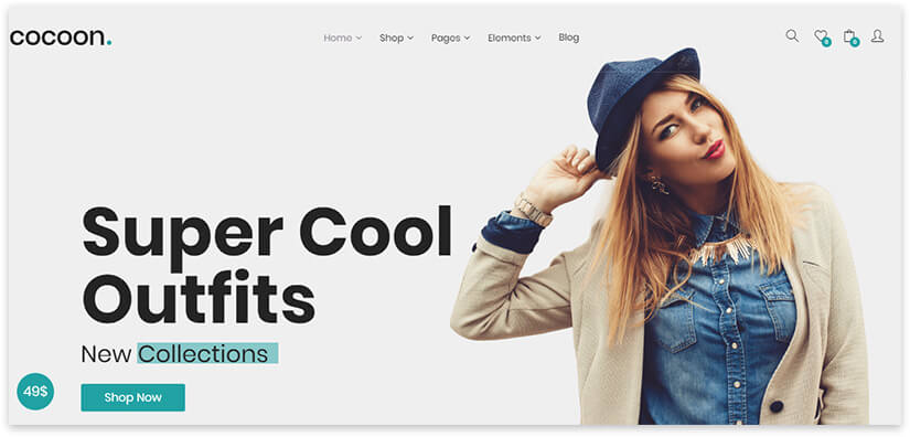 shop on wordpress