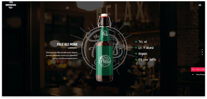 Beer Blog Theme