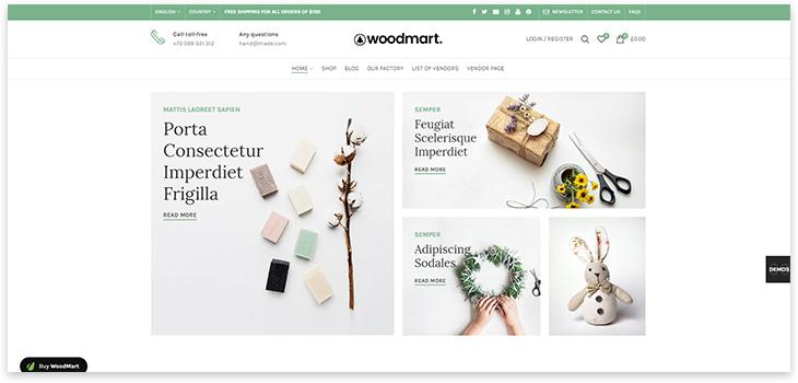 Woodmart wordpress