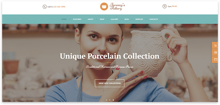 Selling ceramics
