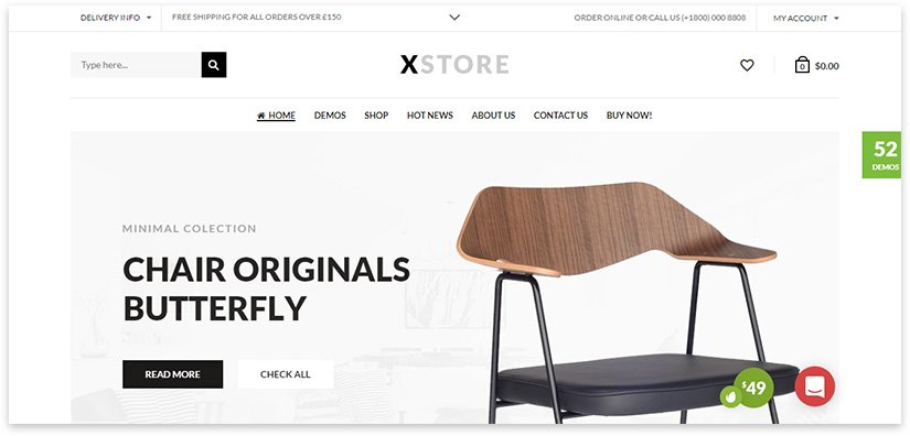 good online store template