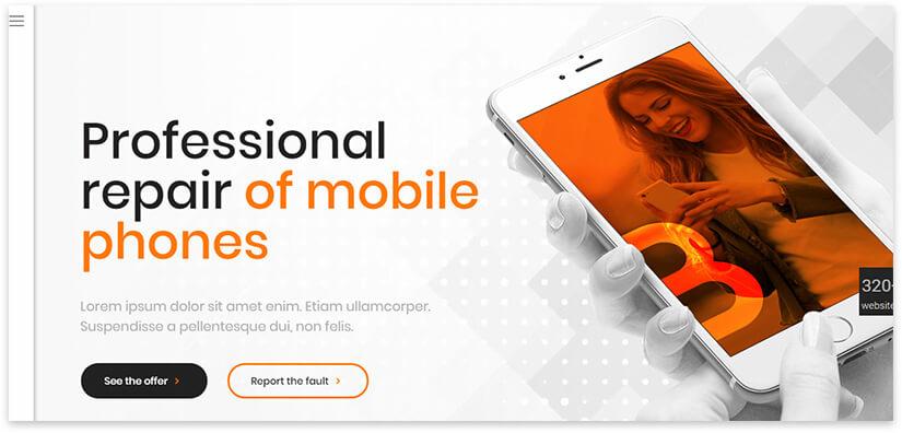 betheme repair of mobile