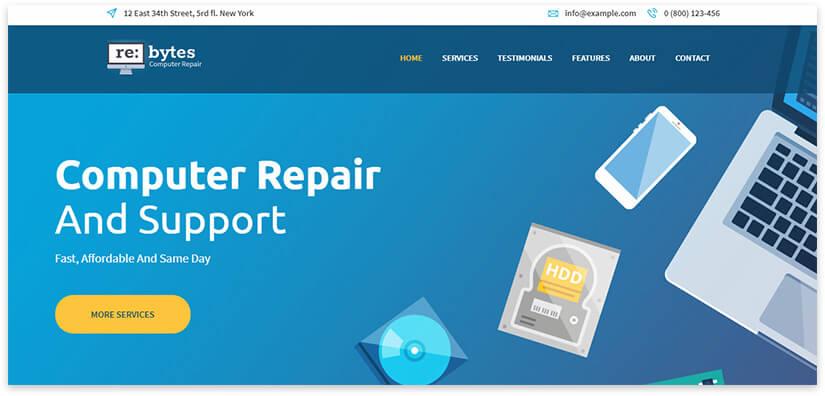 equipment repair site