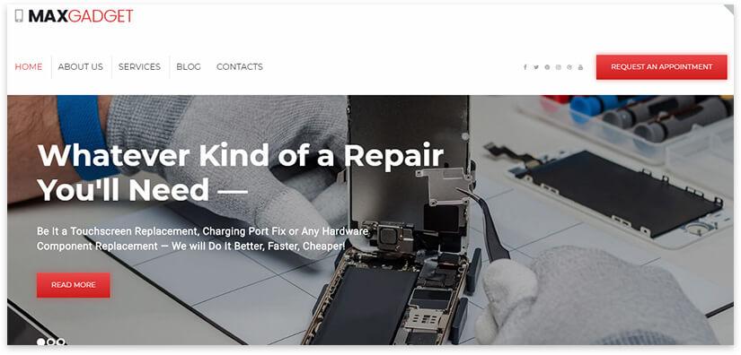 computer repair pattern