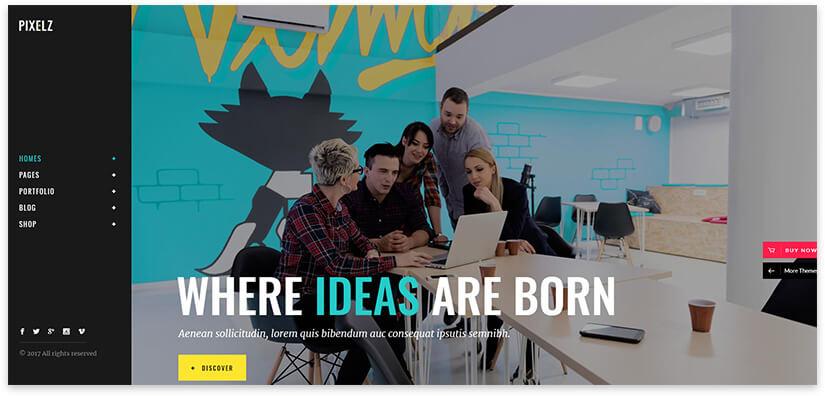 creative agency website