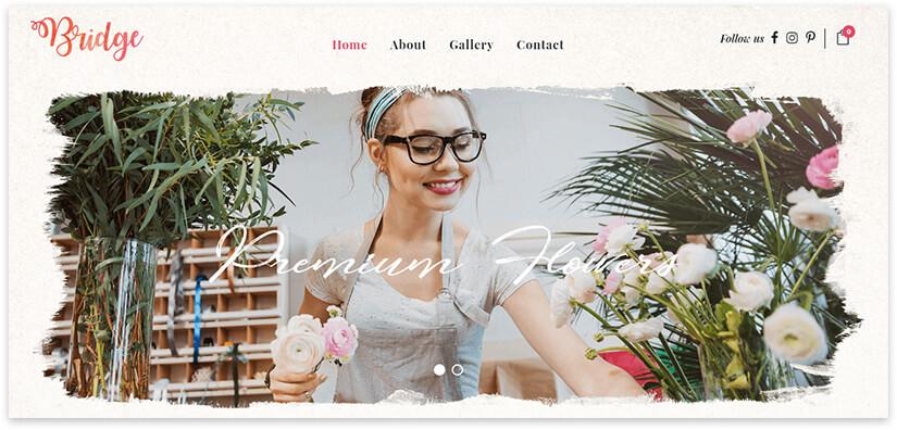 wordpress florist