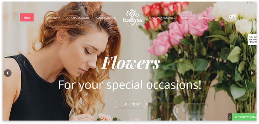flower shop website
