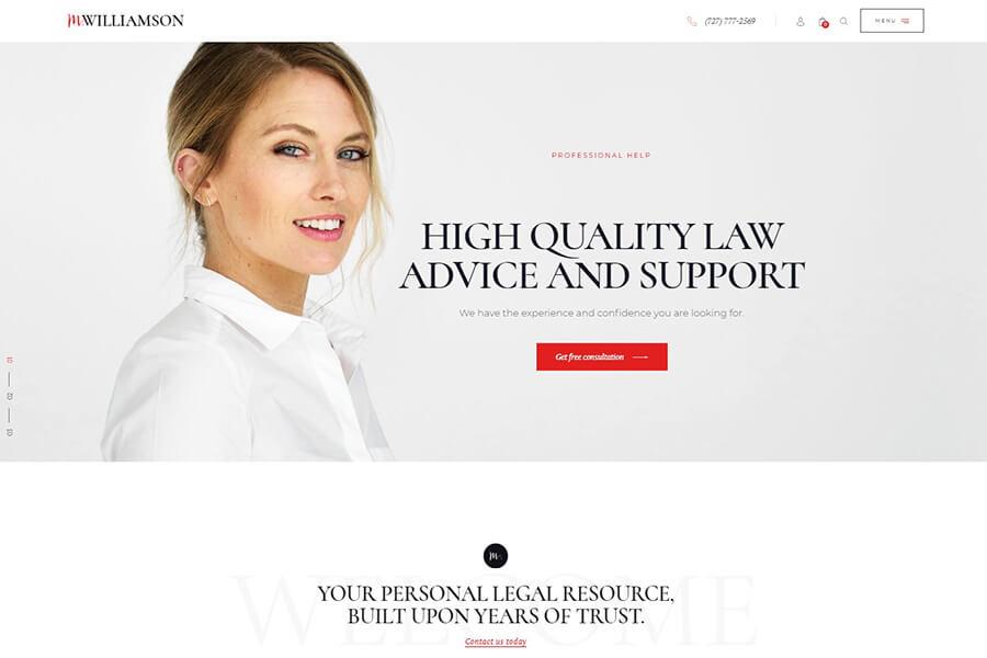 сайт женщины юриста