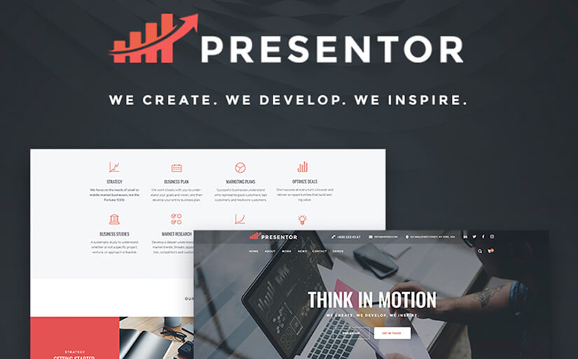template for business site