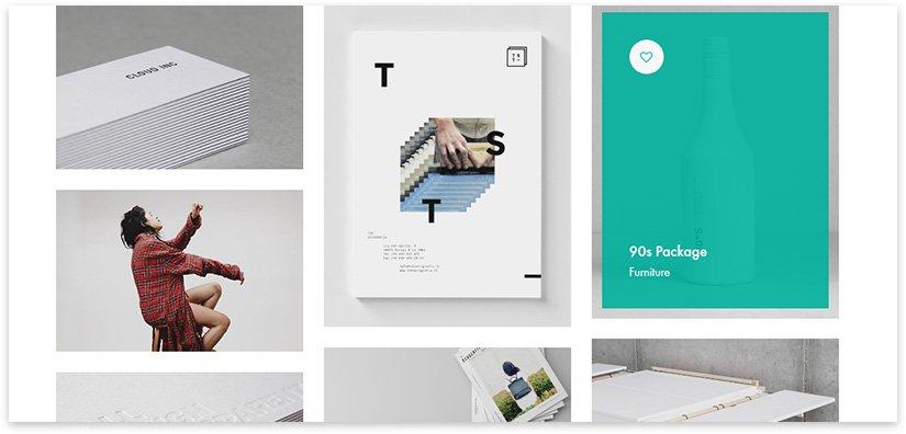 catalog and portfolio