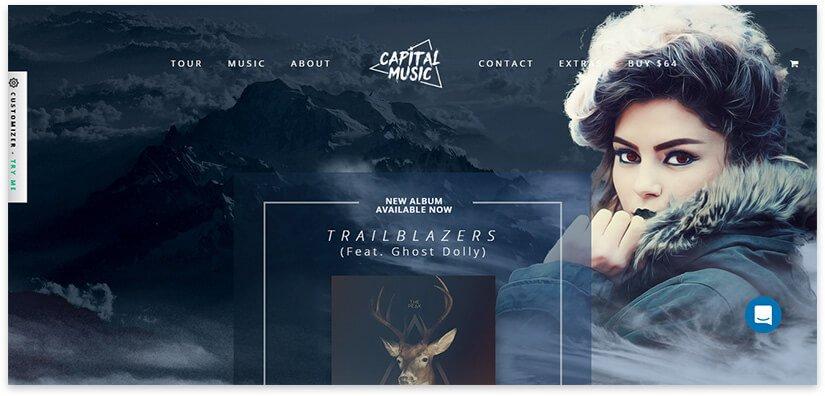 site for music album
