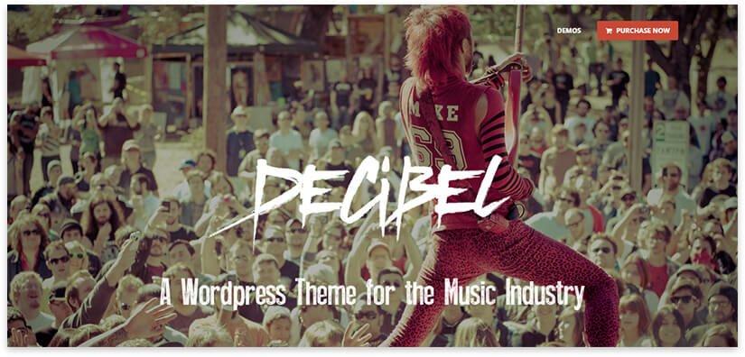 decibel wordpress theme