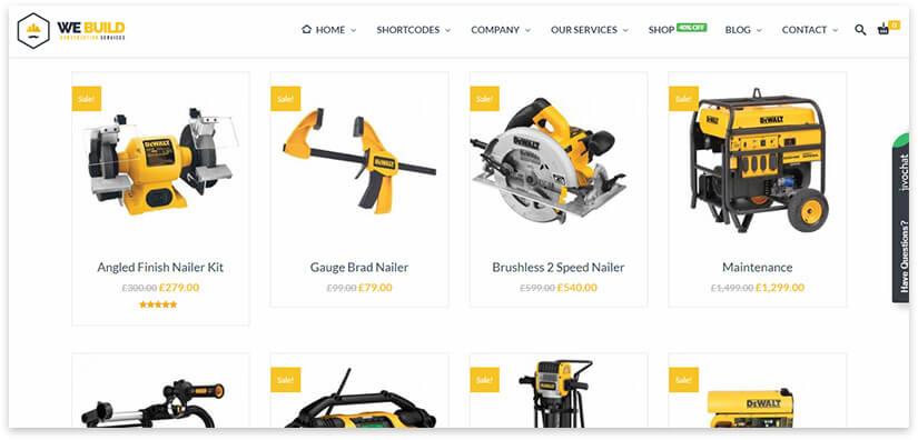 online hardware store