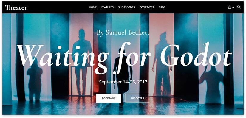 Theater website 2018