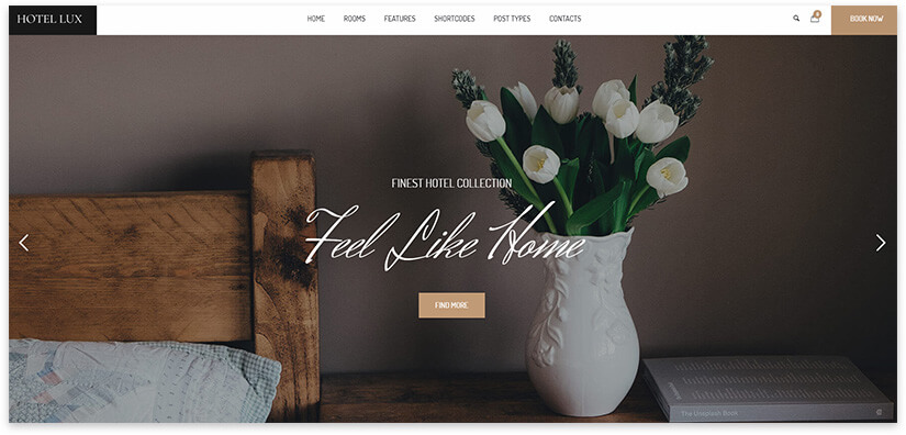 Website for apartments
