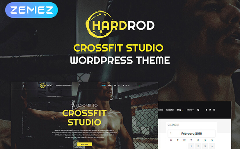 Hardrod template