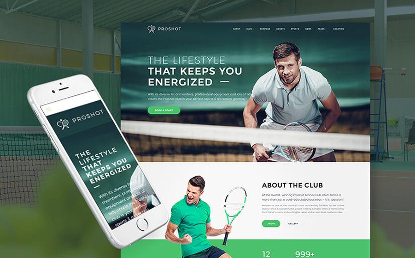 Tennis Site