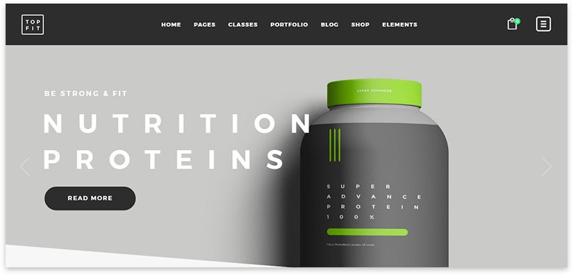 sports nutrition template