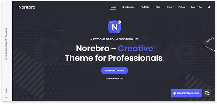 norebro theme