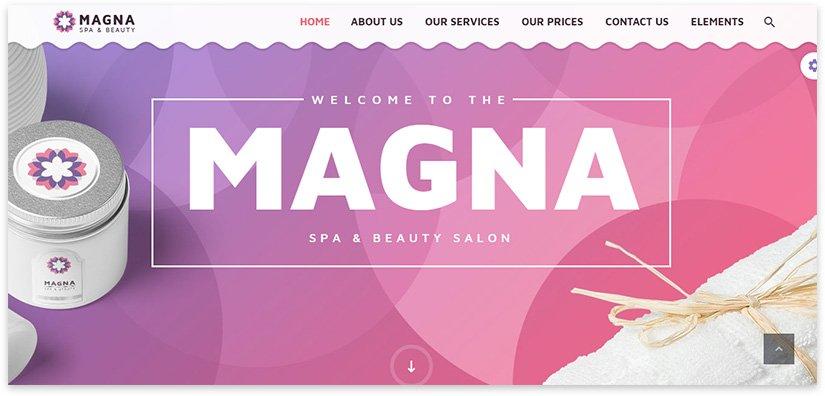 nail service website