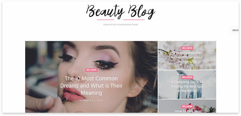 Beauty blog about beauty