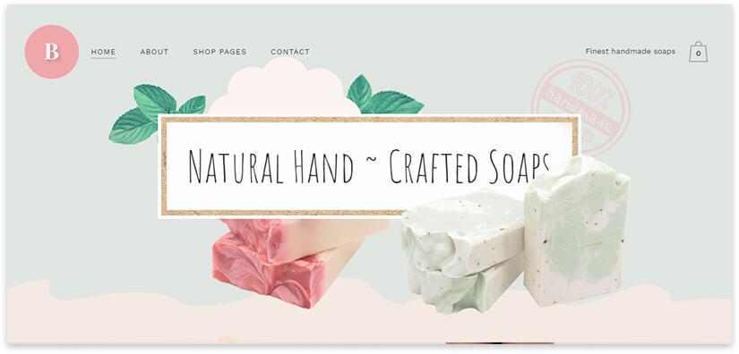 Craft soap shop