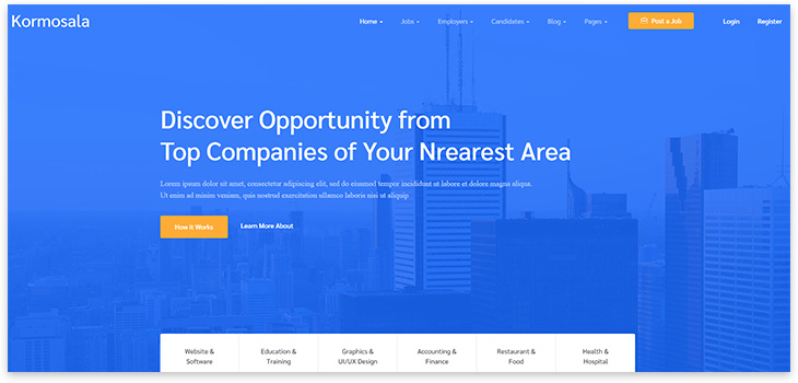 Top 20 WordPress Templates for Directory Site