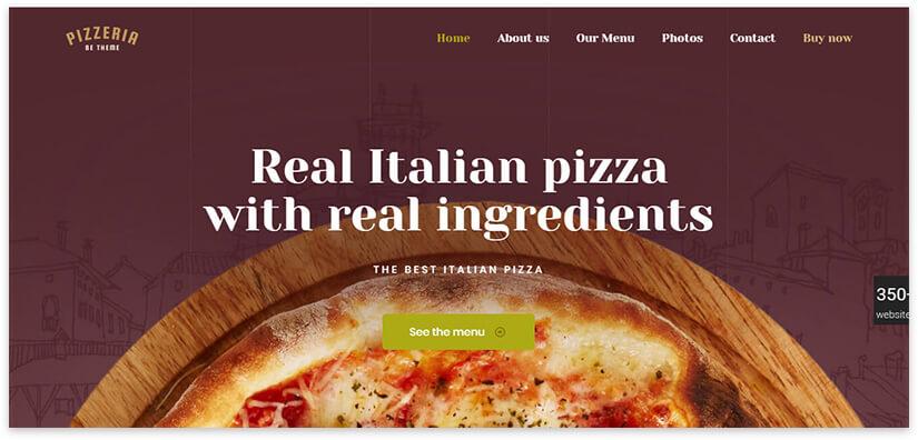 Italian pizza site